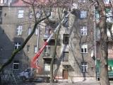 Podest ruchomy ABL 16/18 TK (podnośnik koszowy – zwyżka) wycinka drzew - Bytom
