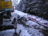 Żuraw samochodowy hydrauliczny z wysięgnikiem rozsuwanym pomoc przy wypadku - Miasteczko Śląskie