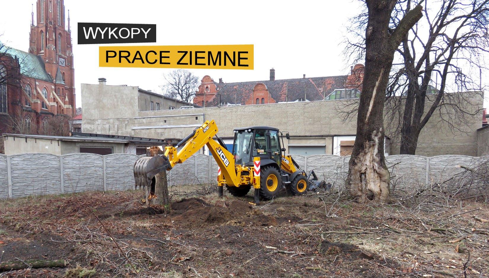 Prace ziemne Tarnowskie Góry, Bytom, Gliwice